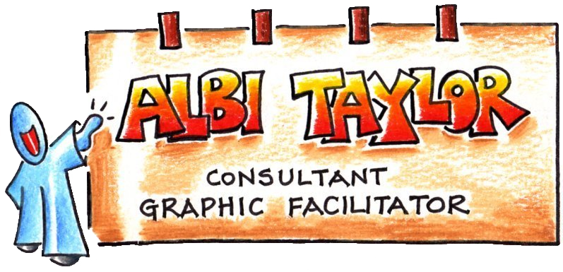 albi taylor - graphic facilitator - graphic facilitation - graphic training